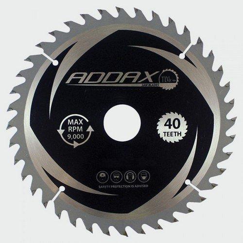 Addax C2353040 TCT Circular Saw Blade 235 x 30 x 40T