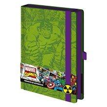 Marvel Comics Hulk Retro A5 Premium Notebook