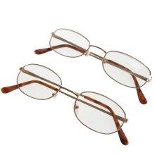 Reading Glasses - Mixed Dark Metal Frame