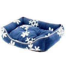 Fashion Pet Bed Washable Pet Nest Cat Bed Dog House S - Blue