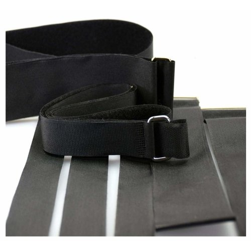 Alfatex® by Velcro® Brand METAL Buckle Strap