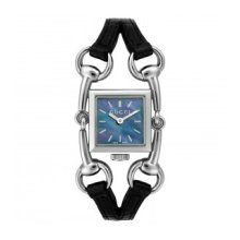GUCCI WATCH SIGNORIA BLUE MOTHER OF PEARL WOMEN'S QUARTZ STAINLESS STEEL YA116503
