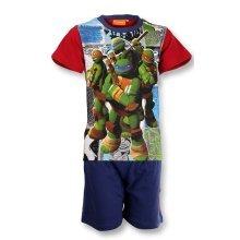 Turtles Short Pyjamas - Red