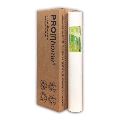 Profhome non-woven lining paper 150 g paintable wall liner wallpaper   75 sqm