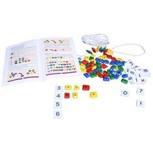 * Creative Pre-school -learn Math Skills With Beads - Preschool Learn Cre0942 -  creative preschool learn math skills beads cre0942 educational lets