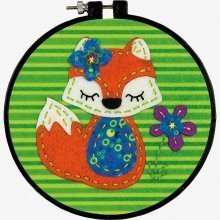 D72-74060 - Dimensions Applique: Little Fox