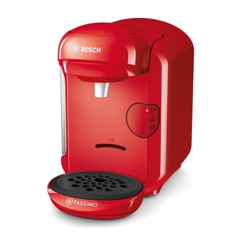 Bosch TAS1403GB Tassimo Vivy 2 Coffee Maker Hot Drinks Machine Red