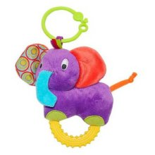 Little Pals Timber The Elephant Teether Rattle