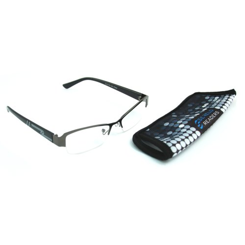Serelo Metal Frame Reading Glasses 'Pebmarsh'