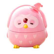 Lovely Office & School Supplies Hand Rotating Pencil Sharpener - Pink Owl