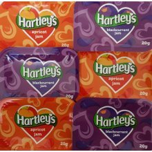 Hartley's Jam Portions (Apricot & Blackcurrant)