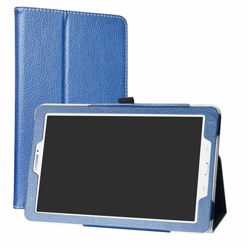 "Samsung Galaxy Tab E 9.6 Case,Mama Mouth PU Leather Folio 2-folding Stand Cover with Stylus Holder for 9.6"" Samsung Galaxy Tab E 9.6 T560 T561..."