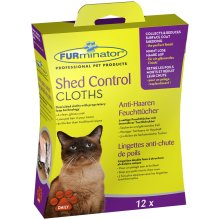 Furminator Shed Control Cloths For Cats (Pack of 6)