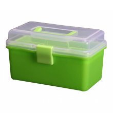 Multipurpose Portable Home Storage Box Toolkit Toolbox Medicine Box,Green
