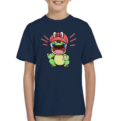 Super Mario Odyssey Cappy Frog Kid's T-Shirt