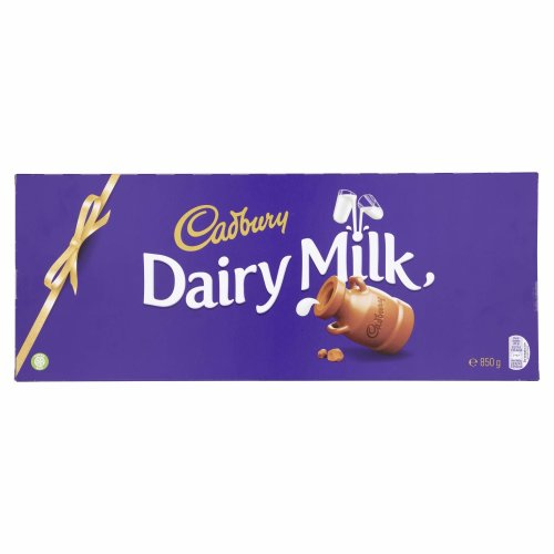 Cadbury Dairy Milk Chocolate Bar, 850 g
