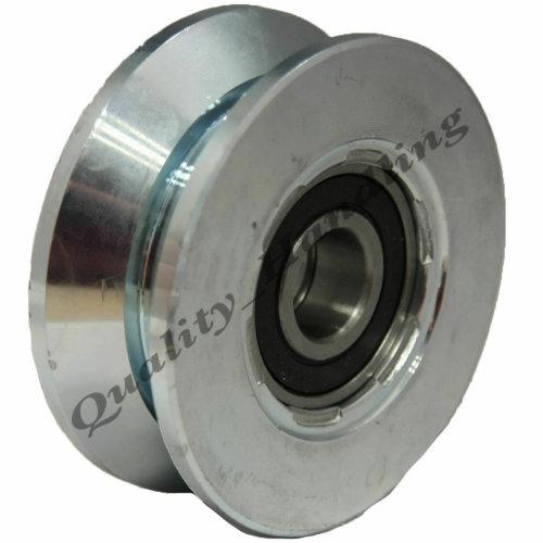 sliding gate, wheel pulley, 80mm V groove Double bearing steel wheel