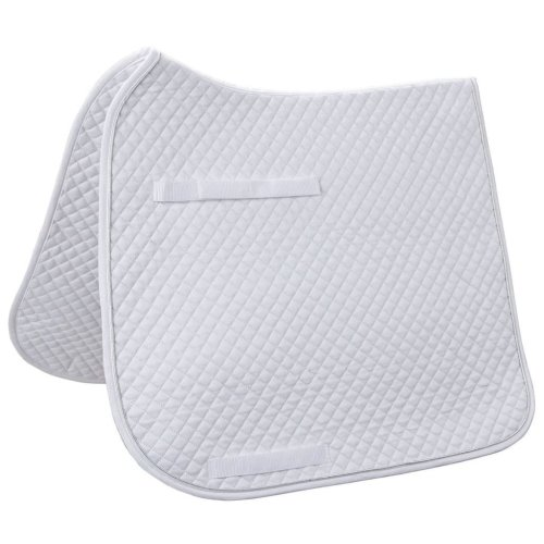 Kerbl Dressage Saddle Pad Classic White 323816