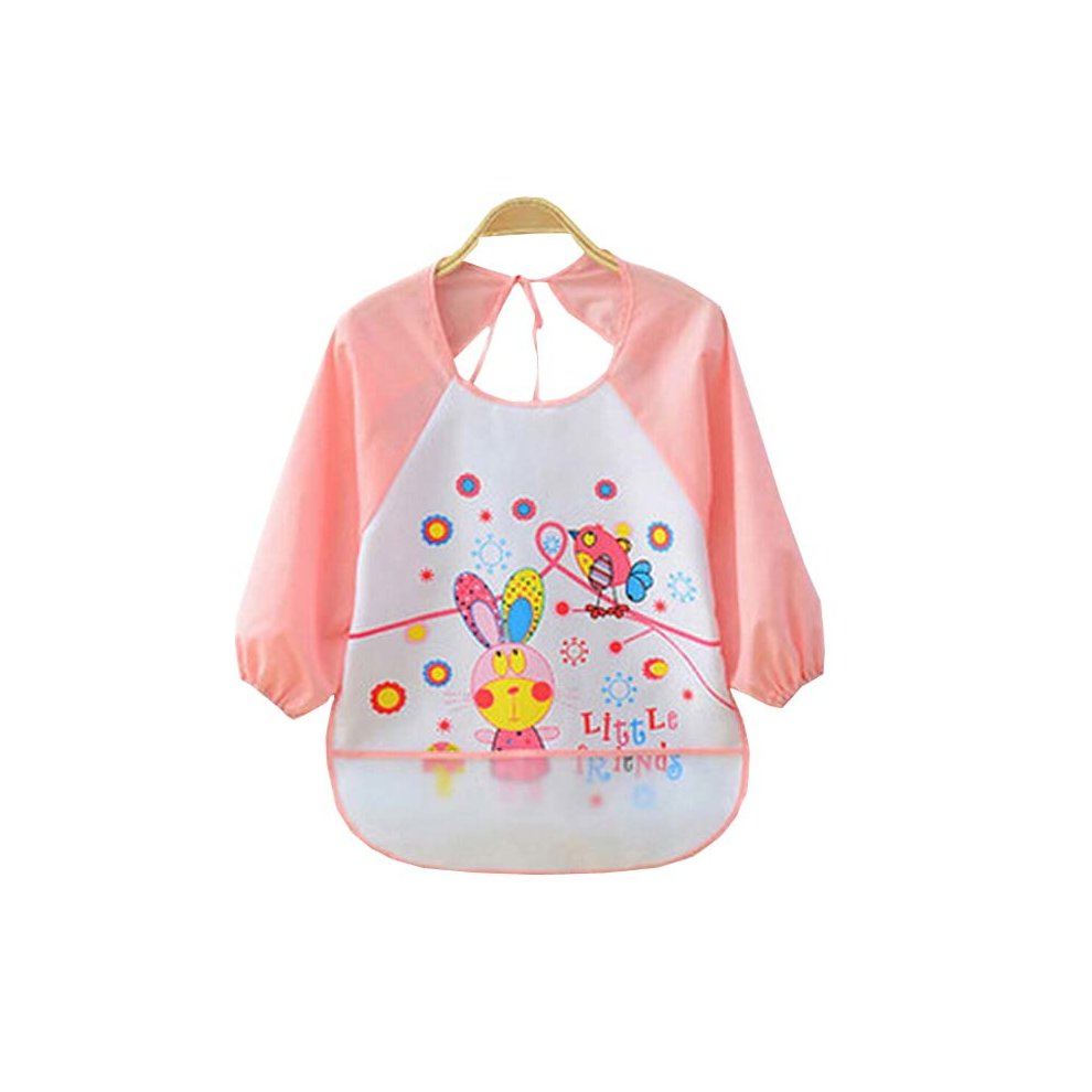 cef8b37df47c3 Useful Waterproof Baby Bib Baby Feeding Painting Smock Cute Rabbit, ...