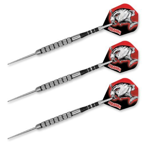 Dart World Piranha Steel Tip Tungsten Darts (22-Gram)