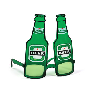 Bristol Novelty Beer Bottle Glasses