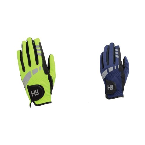 Hy5 Adults Extreme Reflective Softshell Riding Gloves