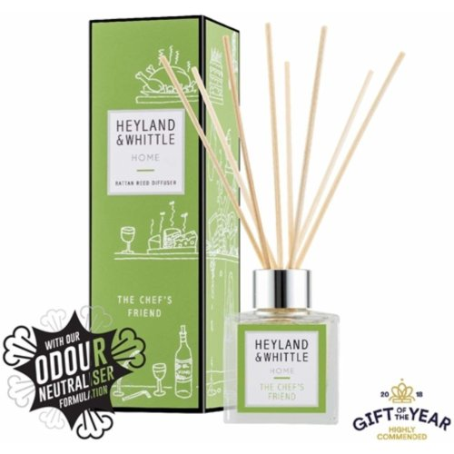 Heyland & Whittle Reed Diffuser 100 ml, The Chef's Friend Lemongrass and Lime