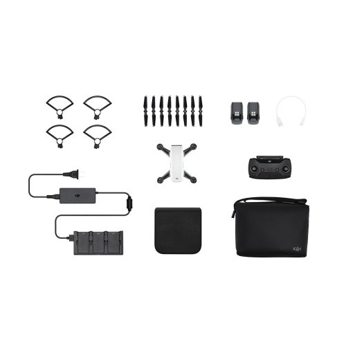 DJI Spark Fly More Combo Drone & Accessories - Alpine White