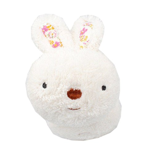 Winter accessory Child White Rabbit Earmuffs Ear warmer plush Warm knit cover  #23