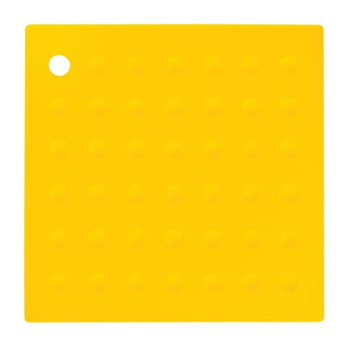 Zing Silicone Trivet - Yellow