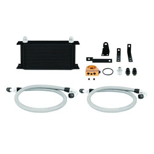 Mishimoto Honda S2000 Oil Cooler Kit, 2000-2009, Black Thermostatic