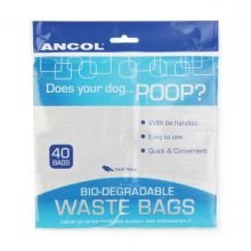 Ancol Flat Pack Waste Bags (40s) (Pack of 12)