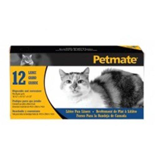 Petmate 290177 Large Litter Pan Liners