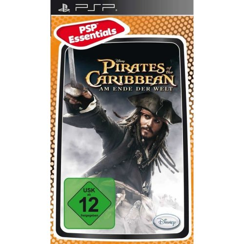 Pirates Of The Caribbean At Worlds End Essentials Edition Sony PSP Game