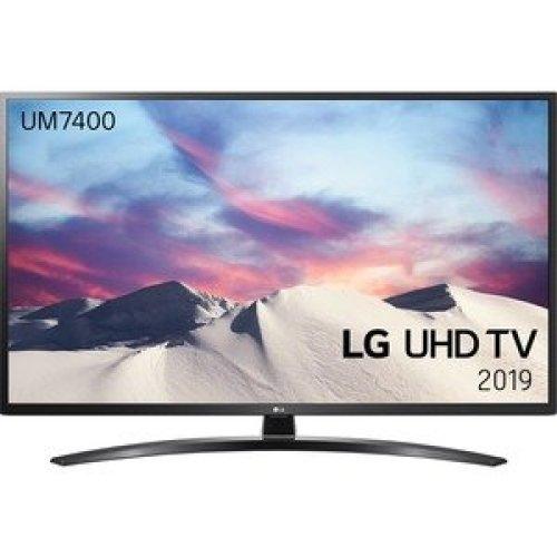 "Lg 43UM7400PLB 109.2 Cm 43"" Smart Led-Lcd Tv 4K Uhdtv Dark Iron Grey Led Ba 43UM7400PLB"