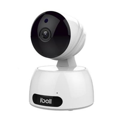 Wireless IP Camera, ibell HD Baby Pet Monitor, WiFi Indoor CCTV Camera for Home Security with Night Vision, Pan Tilt