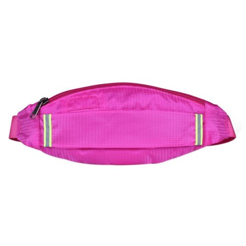 Outdoor Sports And Leisure Large Capacity Fashion Waist Bags, Rose Red