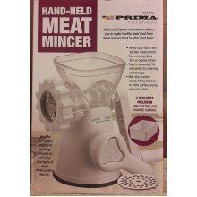 Heavy Duty Hand Held Kitchen Meat Mincer Non Slip Suction Clamp