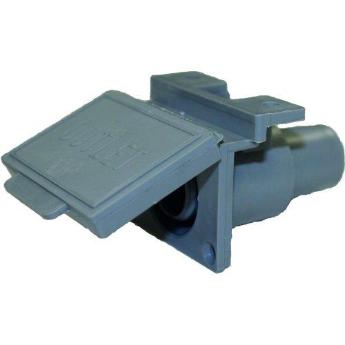 DLS Plastics 3/4in Waste Water Outlet Hose Socket