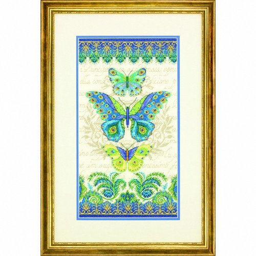 D70-35323 - Dimensions Counted X Stitch - Peacock Butterflies
