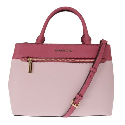 8c6a692d991a Michael Kors Handbags Pink HAILEE Leather Tote Bag on OnBuy