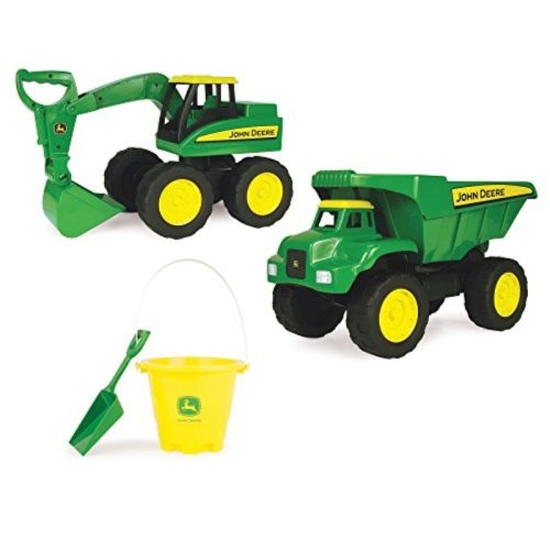 TOMY John Deere Big Scoop Value Set (2 Pack), 15""