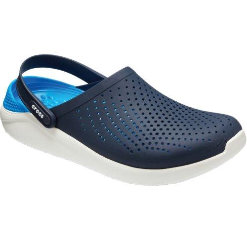 Crocs LiteRide Clog 204592-462 Mens Navy Blue slides Size: 3 UK