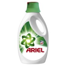 Ariel Regular Biological Washing Laundry Detergent Cleaning Liquid - 60 Washes
