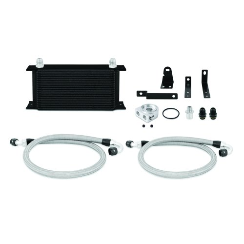 Mishimoto MMOC-S2K-00BK Honda S2000 Oil Cooler Kit, 2000-2009, Black