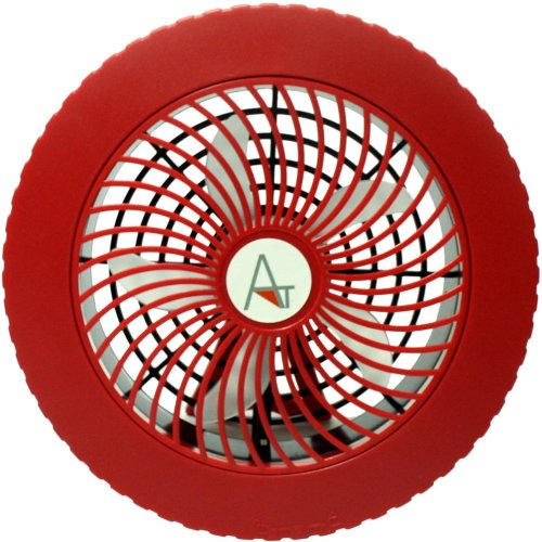 AntilaTech Wired (USB Powered) or Cordless (Battery Powered) Quiet Personal Desktop Mini Fan with Portable Lightweight Design – Suitable for...