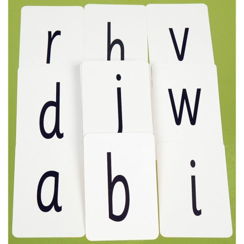 100pk Alphabet Cards | Letter Flashcards