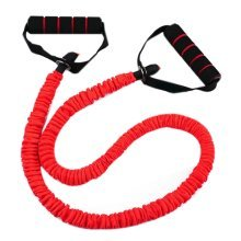 Latex Resistance Band Exercise Straps/Fitness Exercise Bands, Red(Size: 1.2M)
