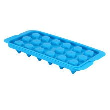 Set Of 2 Creative Polygonal Shape Ice Cube Tray For Home/Bar, Blue