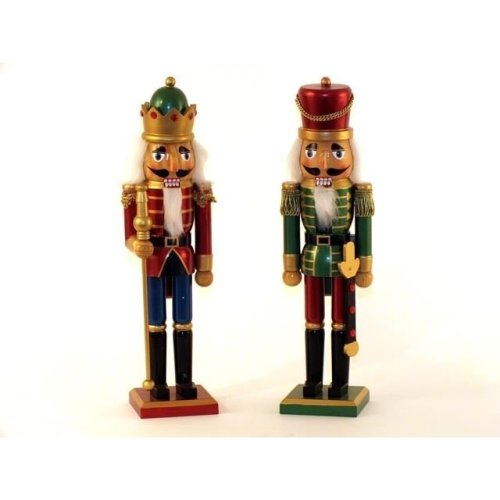 Metallic Effect Nutcracker For Decorative Purposes Only